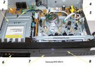 Samsung DVD-VR375 Parts
