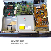 Sony BDP-S300 parts
