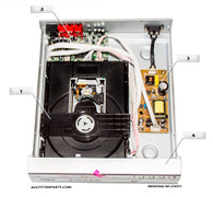 Insignia NS-DVD1 Parts