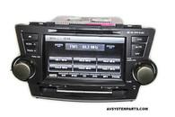 Rosen DS-TY0830 Toyota Highlander 2009 - 2013 Touchscreen Navigation