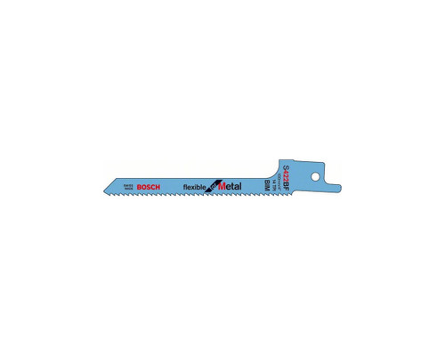 Bosch S422BF Sabre Saw Blade Flexible for Metal (2x)
