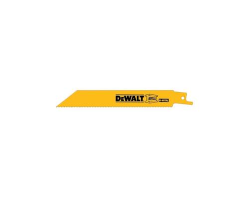 "DeWALT DW4807 General Wood Recipro Saw Blades 100mm (4"") x 14 TPI (5x)"