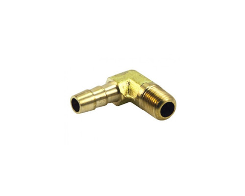 """Air Fittings P6 Elbow Male 1/4"""" Barb 3/8"""""""
