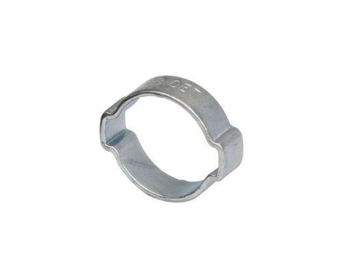 """Air Fittings Steel Double Ear Clamp 25-28mm (1-1/16"""")"""