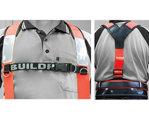 Buildpro LBHAO Shoulder Brace Hi-Vis