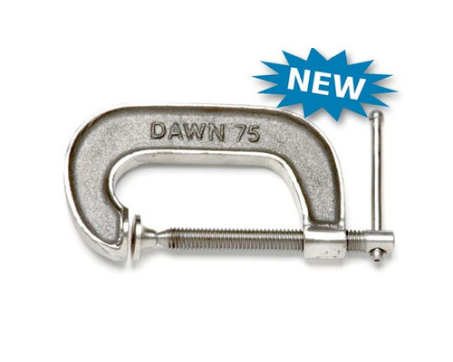 """Dawn 61152-CSS G-Clamp Stainless Steel Marine Grade 316 Cast 75mm (3"""")"""