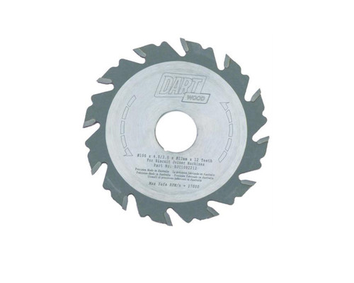 """Dart BJC1002212 Wood Cutting 100mm (4"""") x 22mm x 12T"""