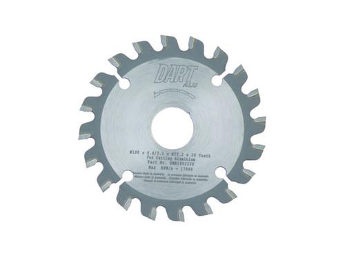 """Dart DMB1002220 Aluminium MIlling 100mm (4"""") x 22mm x 20T"""