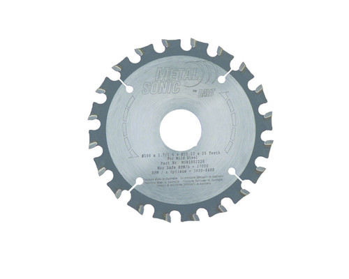 "Dart MSB1002220 Metal Cutting 100mm (4"") x 22mm 20T"