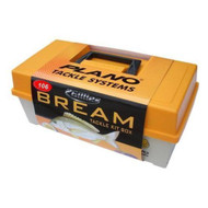 Plano Bream Tackle KIT BOX Fishing Tackle BOX With 106 Pieces Hooks Line Sinker