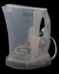 Tiffany Transparent Cordless Kettle 1L