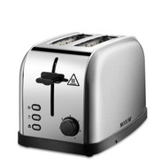 MAXIM Stainless Steel 2 Slice Automatic Toaster