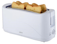 Tiffany  Product: 4 Slice White Toaster