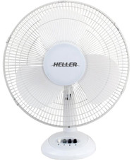HELLER  30cm White Desk Fan