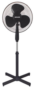 HELLER  40cm Pedestal Fan (Black)