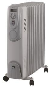 HELLER Oil Heater 11 Fin 2400W
