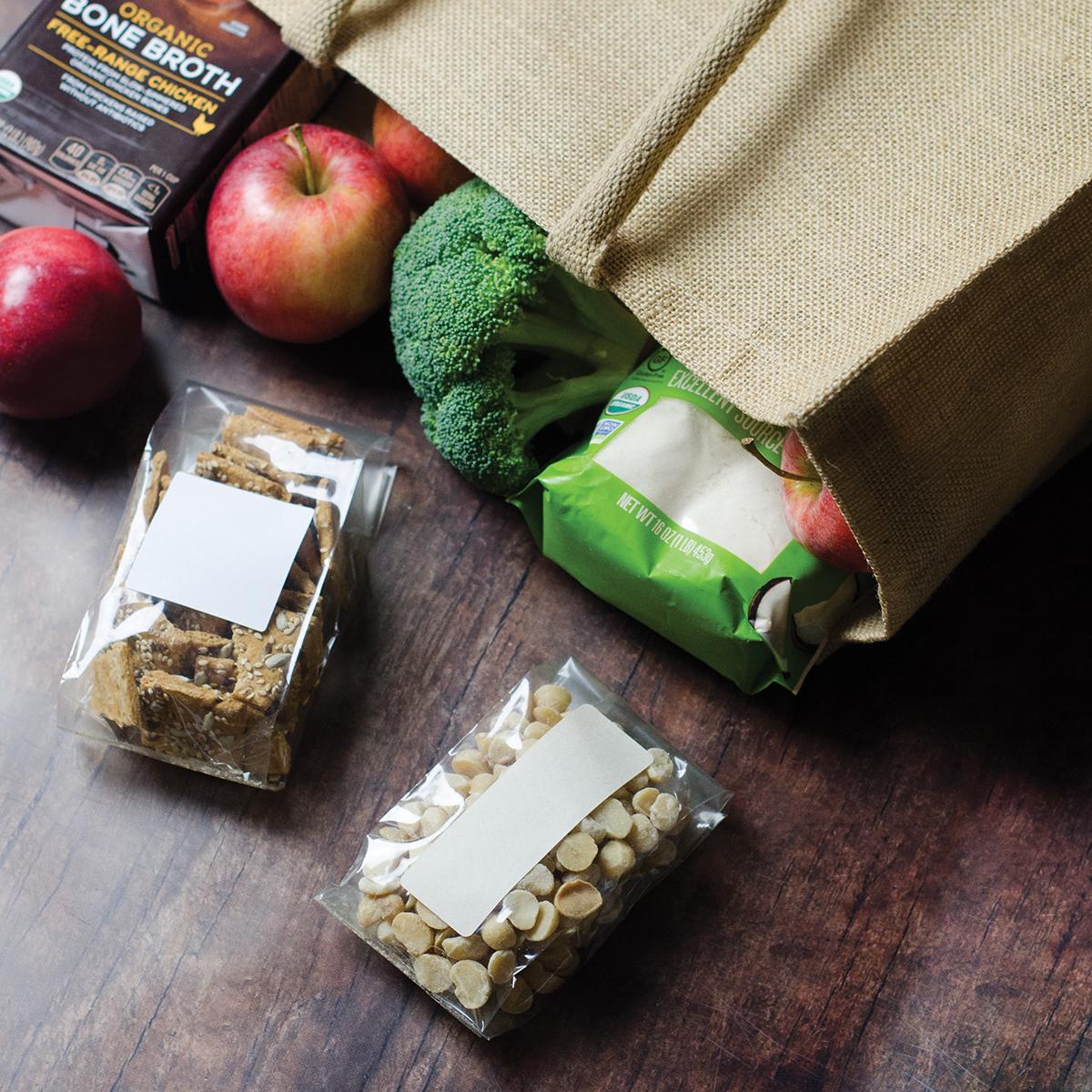 Non-GMO cellophane bags