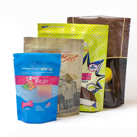 custom compostable flexible packaging