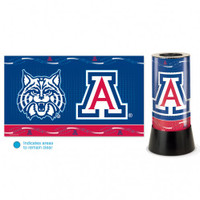 Arizona Wildcats Rotating Team Lamp