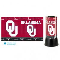 Oklahoma Sooners Rotating Team Lamp