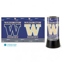 Washington Huskies Rotating Team Lamp