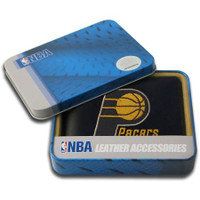 Indiana Pacers Embroidered Billfold Leather Wallet