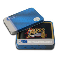 Philadelphia 76ers Embroidered Billfold Leather Wallet
