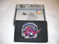 Toronto Raptors Embroidered Billfold Leather Wallet