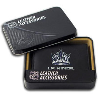 Los Angeles Kings Embroidered Billfold Leather Wallet