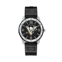 Pittsburgh Penguins Team Leather Watch by Sparo