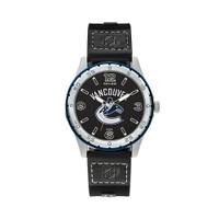 Vancouver Canucks Team Leather Watch by Sparo