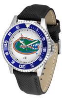 Florida Gators Competitor Leather Watch White Dial