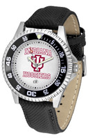 Indiana Hoosiers Competitor Leather Watch White Dial