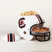 South Carolina Gamecocks Snack Helmet