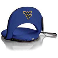 West Virginia Mountaineers Reclining Stadium Seat Cushion