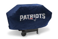 New England Patriots Deluxe Barbecue Grill Cover