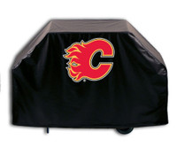 Calgary Flames Deluxe Barbecue Grill Cover