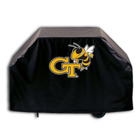 Georgia Tech Yellow Jackets  Deluxe Barbecue Grill Cover