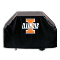 Illinois Fighting Illini Deluxe Barbecue Grill Cover