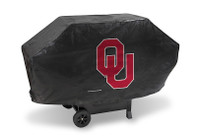 Oklahoma Sooners Deluxe Barbecue Grill Cover