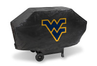 West Virginia Mountaineers Deluxe Barbecue Grill Cover