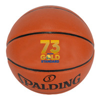 Golden State Warriors 73 Wins NBA Season Record Full Leather Basketball LE 5000
