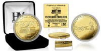 Cleveland Cavalier 2016 NBA Champions Gold Coin LE