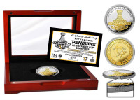 Pittsburgh Penguins 2016 Stanley Cup Champions Two-Tone Mint Coin LE 2,016