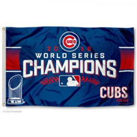 Chicago Cubs 2016 World Series Champions 3' x 5' Flag