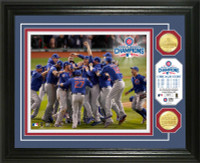 """Chicago Cubs 2016 World Series Champions """"Celebration"""" Bronze Coin Photo Mint"""