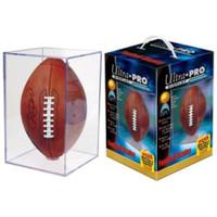 Ultra Pro Acrylic UV Football Cube Square Display Case Holder