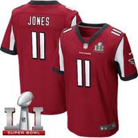 Atlanta Falcons Julio Jones Nike Red Super Bowl LI Bound Game Jersey