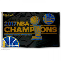 Golden State Warriors 2017 NBA Finals Champions 3' x 5' Flag