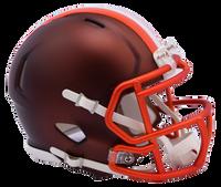 Cleveland Browns NFL Blaze Revolution Speed Riddell Mini Football Helmet